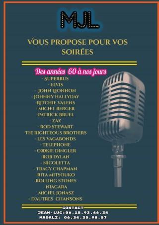 Concert Jean-Luc MINET