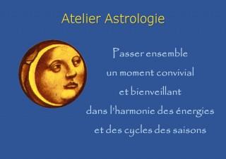 Atelier signe astrologique et méditation